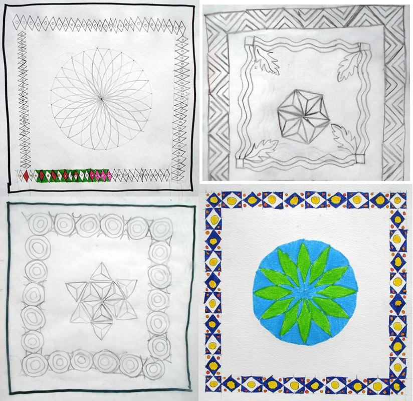 motif geométrique